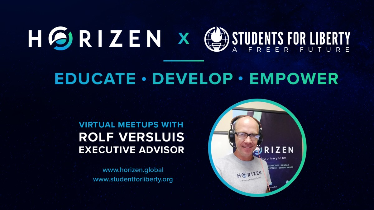 Building A Better Future Together - Horizen Joins Forces with Students For Liberty