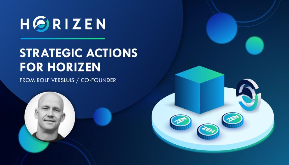 Re: Strategic Actions for Horizen, from Executive Advisor and Co-founder - Rolf Versluis