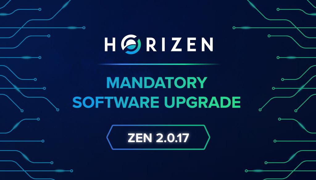 Mandatory Software Upgrade: ZEN 2.0.17