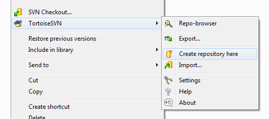 Create SVN Repository