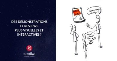 Blog Zenika - Demo reviews interactives
