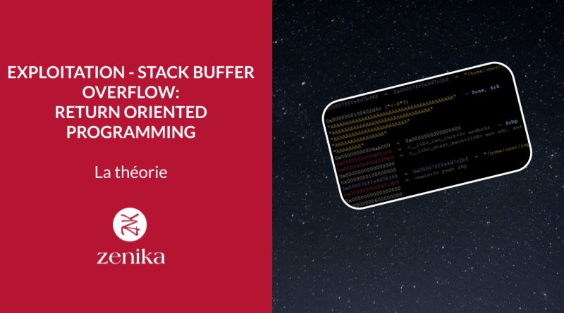 Exploitation – stack buffer overflow: Return Oriented Programming – 1/2: La théorie
