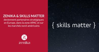 Zenika et Skills Matter deviennent partenaires stratégiques en Europe, dans la zone APAC et sur les marchés nord-américains