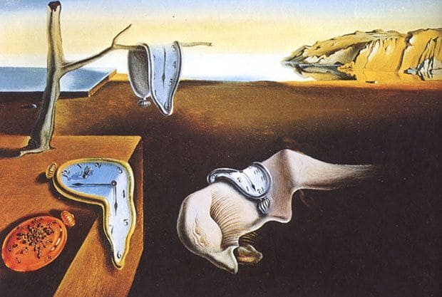 The Persistence of Memory Dali