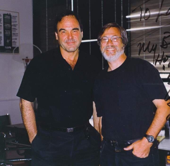 Larry Grobel Oliver Stone
