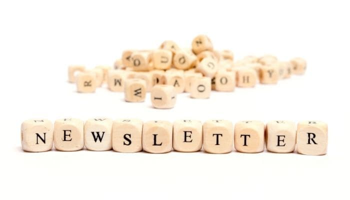 reasons to start newsletter