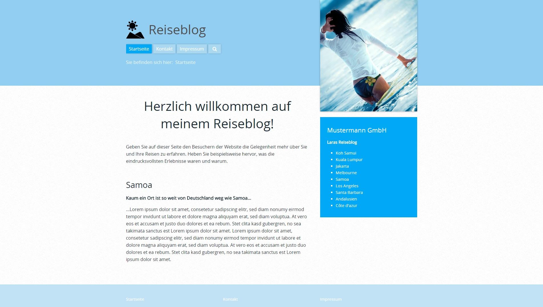 Groß Reise Blog Vorlage Fotos - Entry Level Resume Vorlagen Sammlung ...