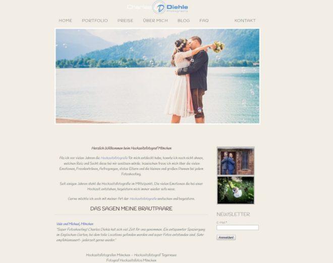 Homepage von Charles Diehle Photography