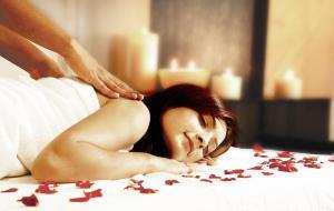 Aromatherapy and massage