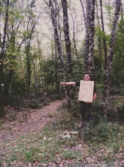 indicazioni alla vecchia maniera - La foresta dei mille occhi ovvero Caselli e la cascata dello Sterza
