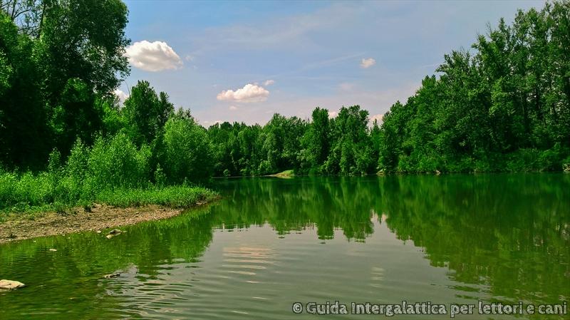 il fiume Reno - Cammino degli Dei primo giorno : falsa partenza e via verso Badolo