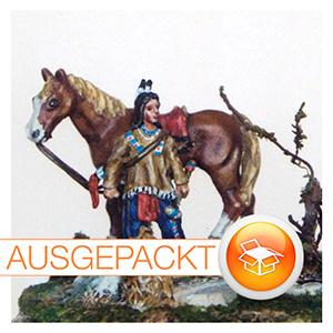 7201 Prärie Indianer mit Pferd  von Sieland