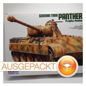 """Panzerkampfwagen """"PANTHER """" Ausf.D SdKfz 171 • Tamiya"""