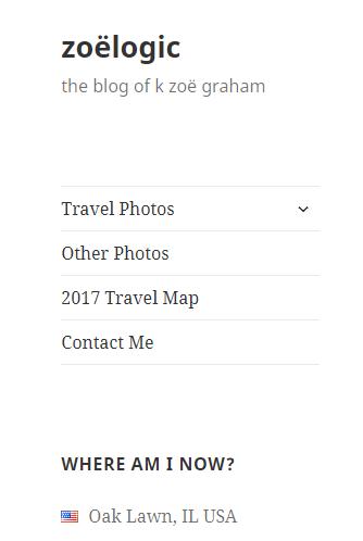 Introducing my travel blog