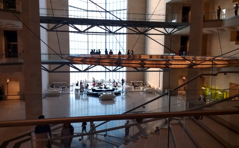The Museum of Islamic Art is the perfect place to hang out in Doha.