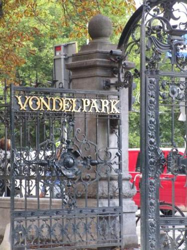 Finally got to Vondelpark. It was huge. I was exhausted. Decided to return another day when I wasn't quite so exhausted.