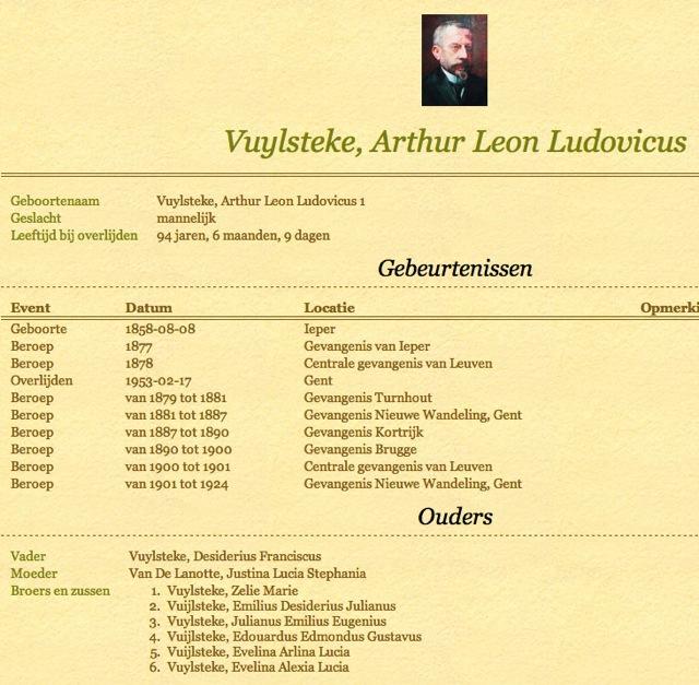 Arthur Leon Ludovicus Vuylsteke