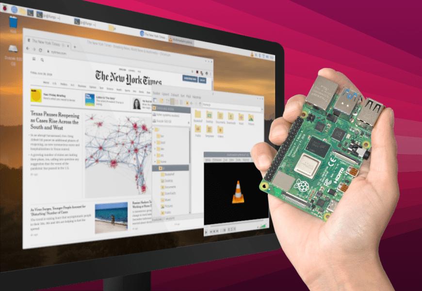 Operační systémy pro Raspberry Pi 4 Model B
