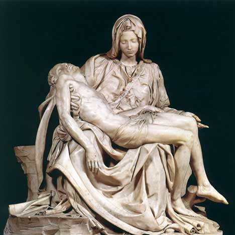 La Pieta by Michelangelo 1499