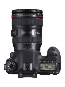 EOS 6D TOP DISPLAY WiFi GPS w EF 24-105mm L