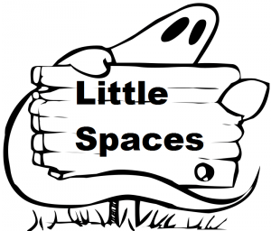 Ghost with Sign - Little Spaces