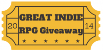 Great Indie RPG Giveaway Ticket