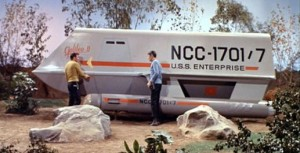 Original Series Star Trek Shuttle (From Here)