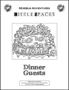 Little Spaces: Dinner Guests cover