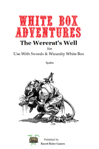 Wererat's Well cover