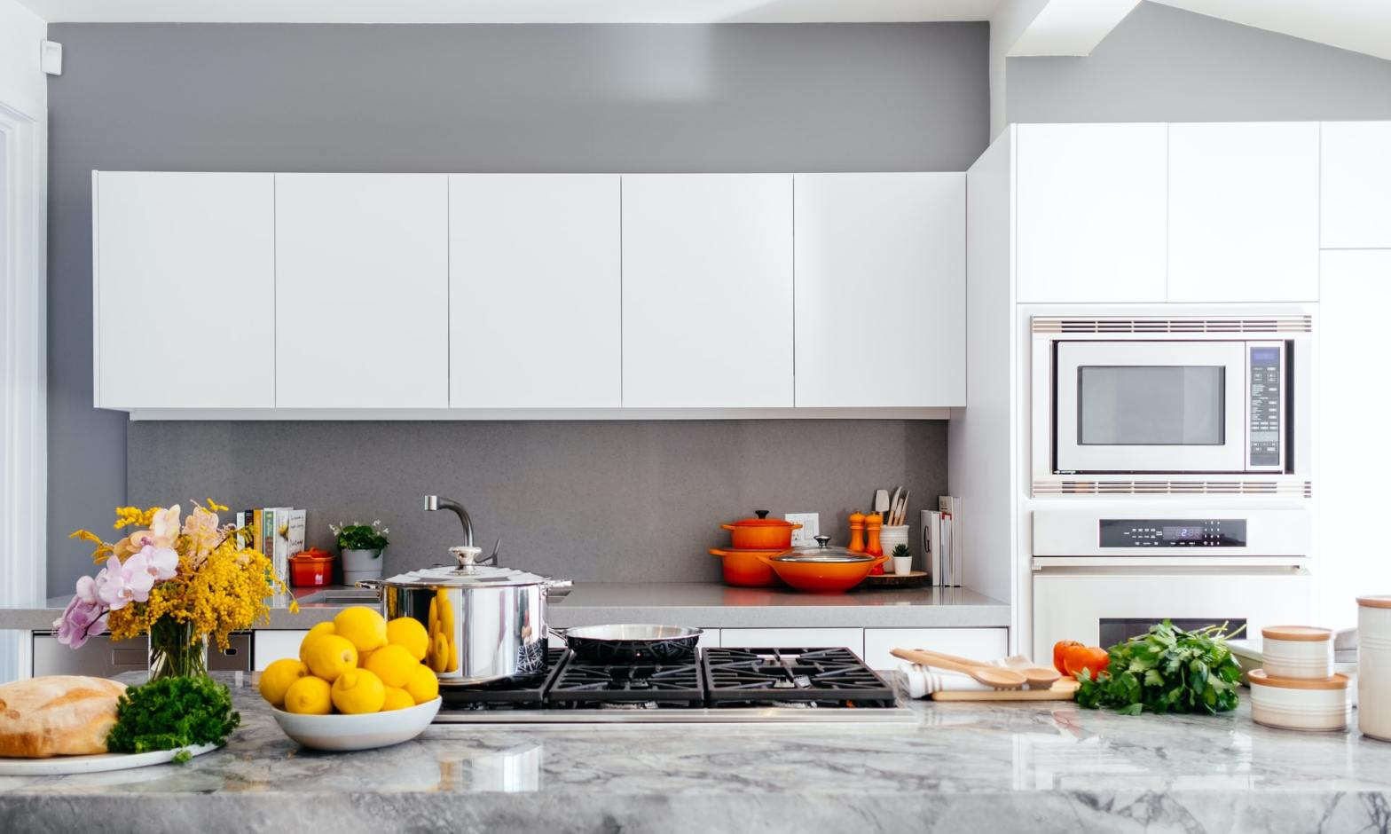 A well-equipped Shared kitchen space