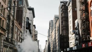 Apartment buildings in SoHo, Manhattan