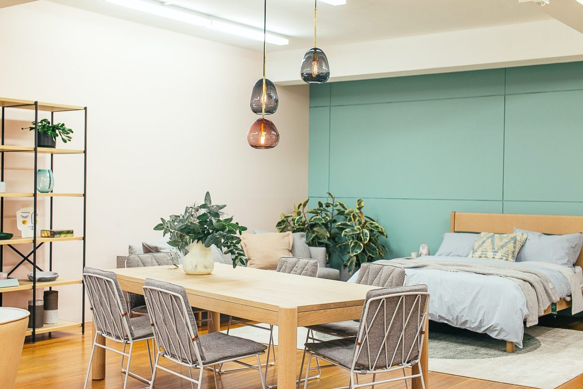 home decor apartment with plants