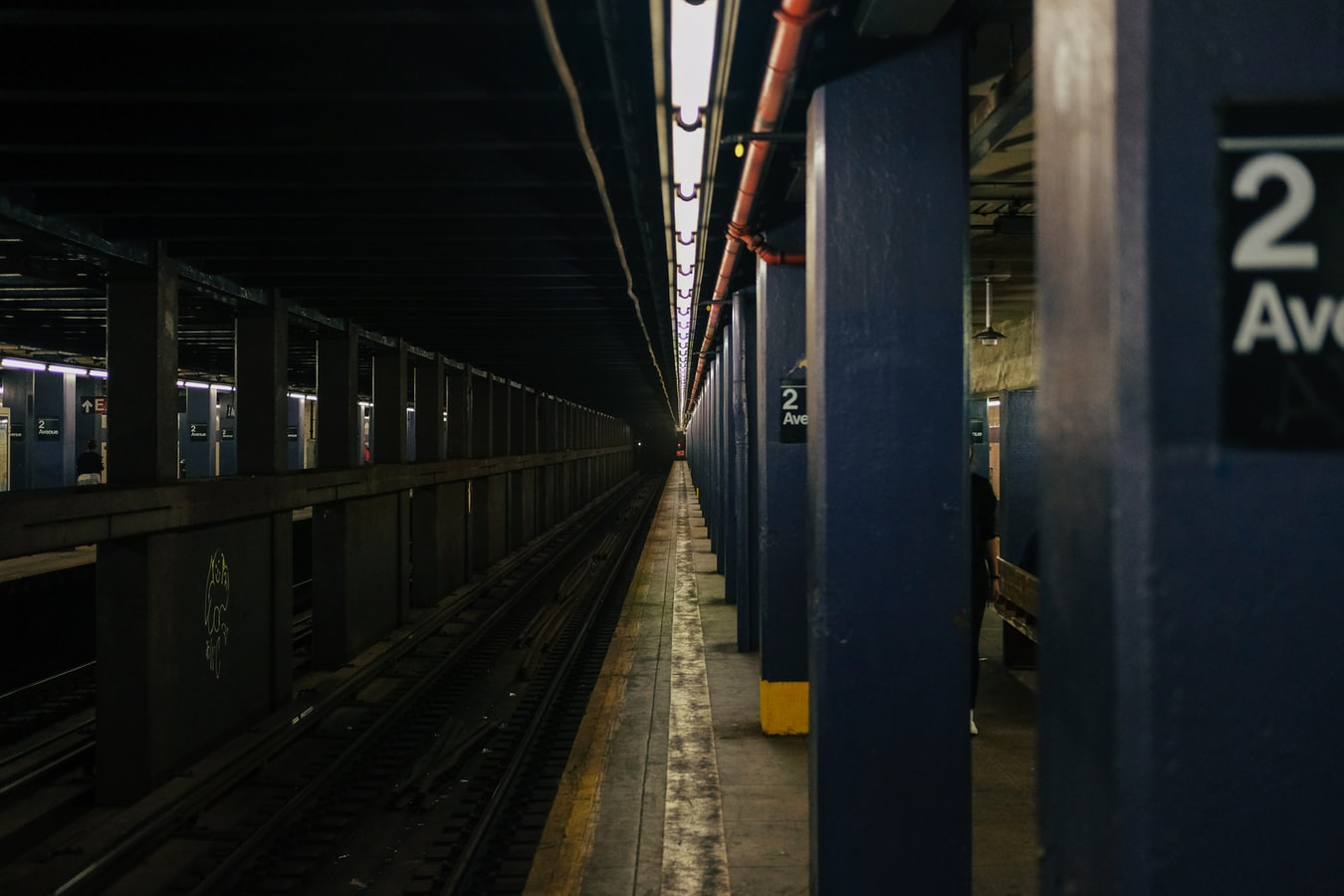 2nd Ave Station At the subway in manhattan NYC