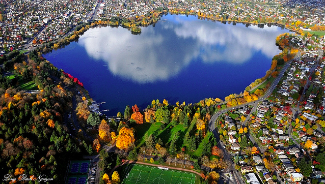 green lake park, of the the best places to visit in seattle