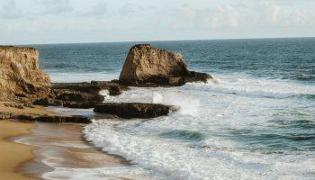 Beach at San Jose California