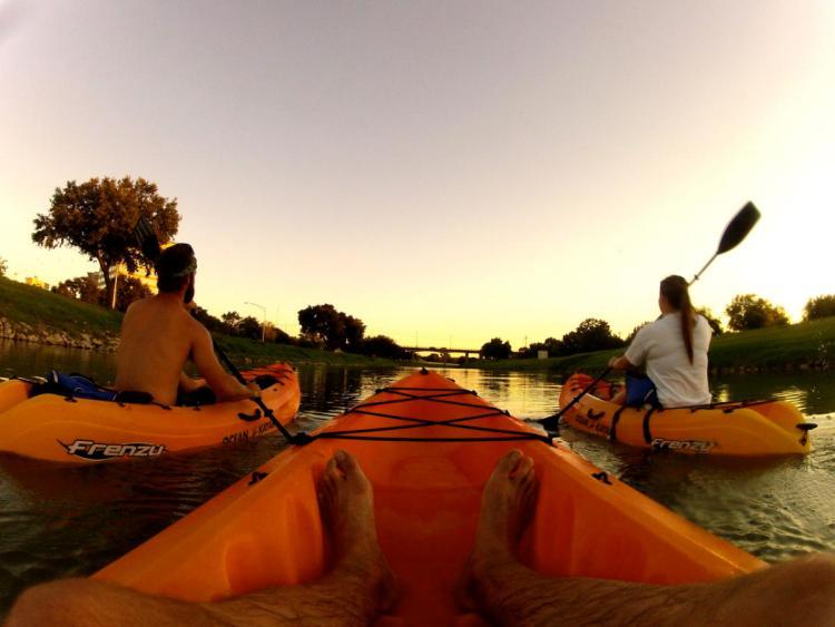 kayaking fort worth