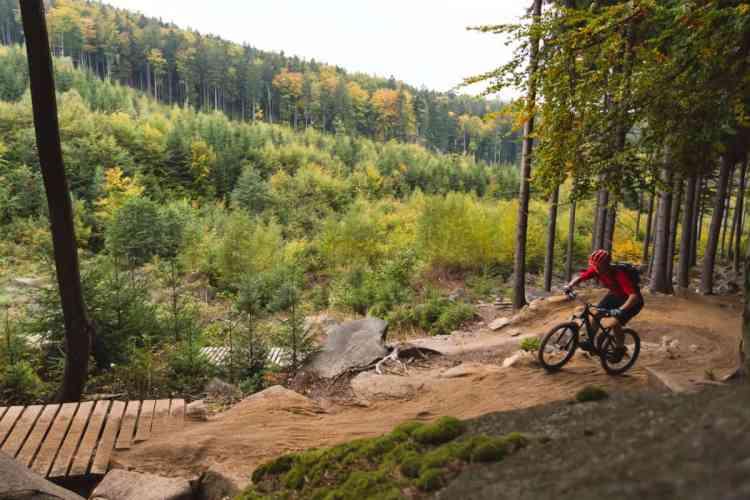 mountain biking fort worth