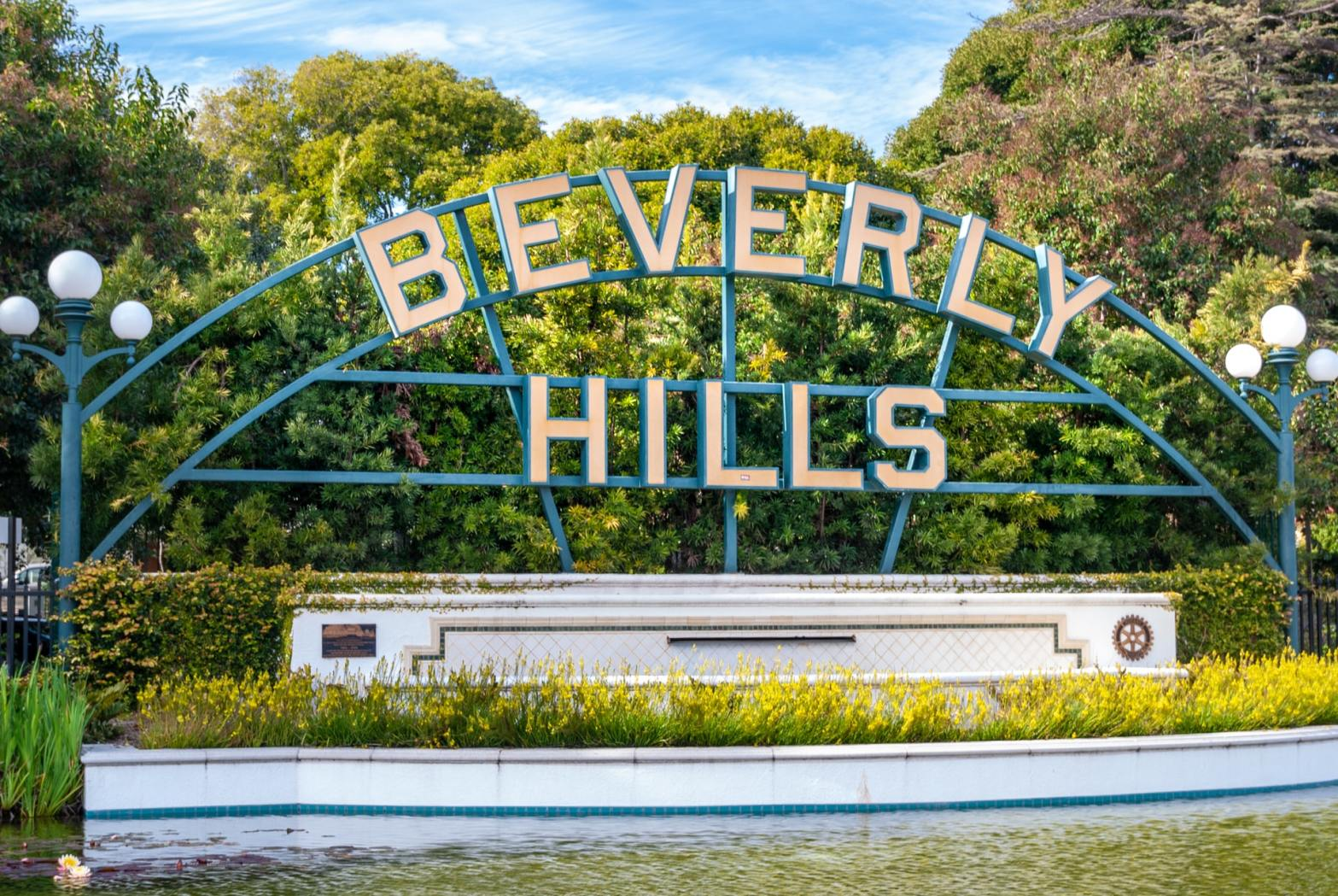 Beverly Hills Signboard California