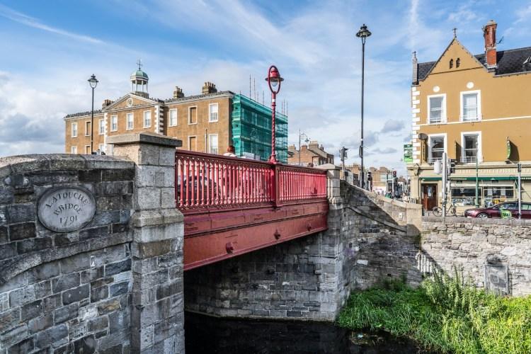 Image of a bridge leading to Dublin