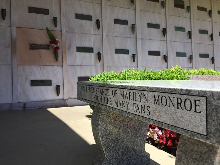 Marilyn Monroe's crypt