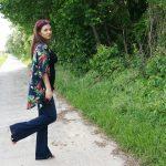 Fille en fleurs – Défi WaM