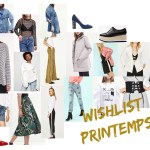 Wishlist de printemps