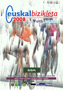 Euskal Bizikleta 2008 - Kartela