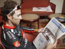 Valverde, Le Figaro irakurtzen
