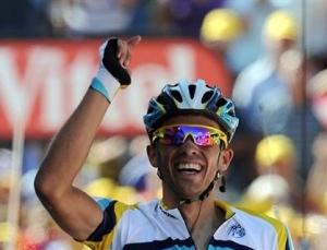 Contador. 15, etapan garaipena eta lidergoa