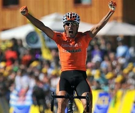 Mikel Astarloza. 16. etapan garaile