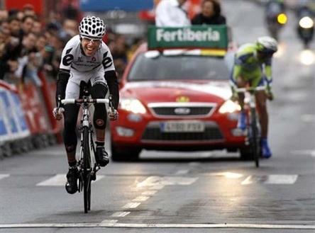 Deignan. 2009ko Vueltan 18. etapan garaile
