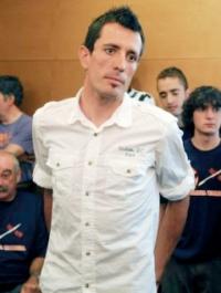 Mikel Astarloza prentsa aurrekoan errugabetasuna defendatzen