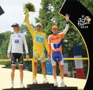 2010ko Frantziako Tourreko podiuma