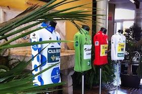 Vuelta 2015 maillotak